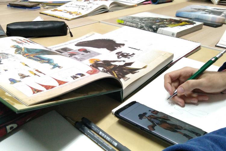 Taller de dibujo digital: Proyectos creativos
